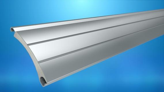 Profil aluminiowy PA-39 bez perforacji
